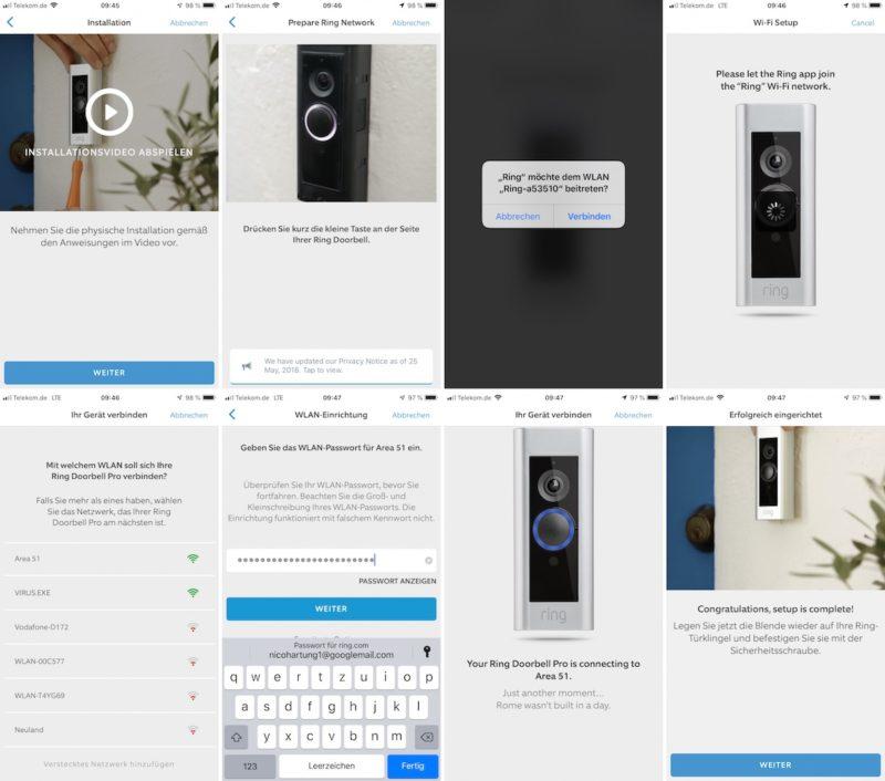 ring video doorbell pro einrichtung doorbell pro2 800x706 - Test - Ring Video Doorbell Pro - Smarte Türklingel mit Gong