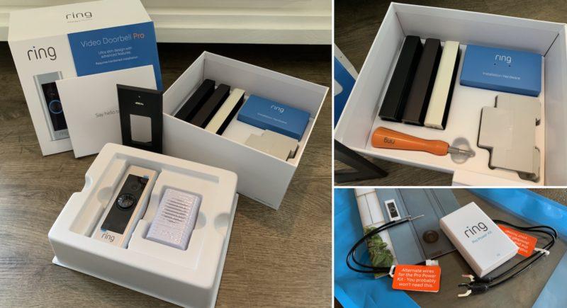 ring video doorbell pro ovp lieferumfang 800x435 - Test - Ring Video Doorbell Pro - Smarte Türklingel mit Gong