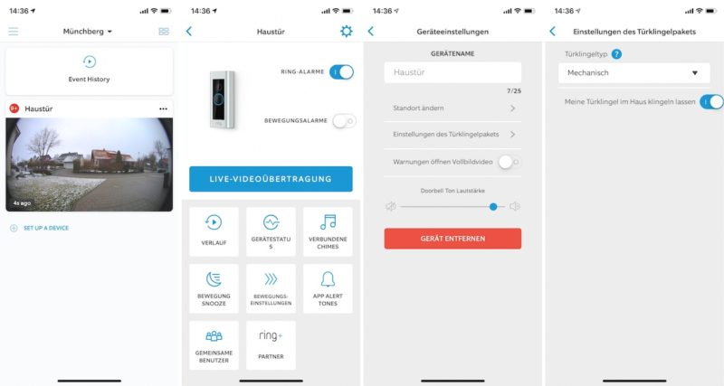 Test Ring Video Doorbell Pro Smarte T 252 Rklingel Mit