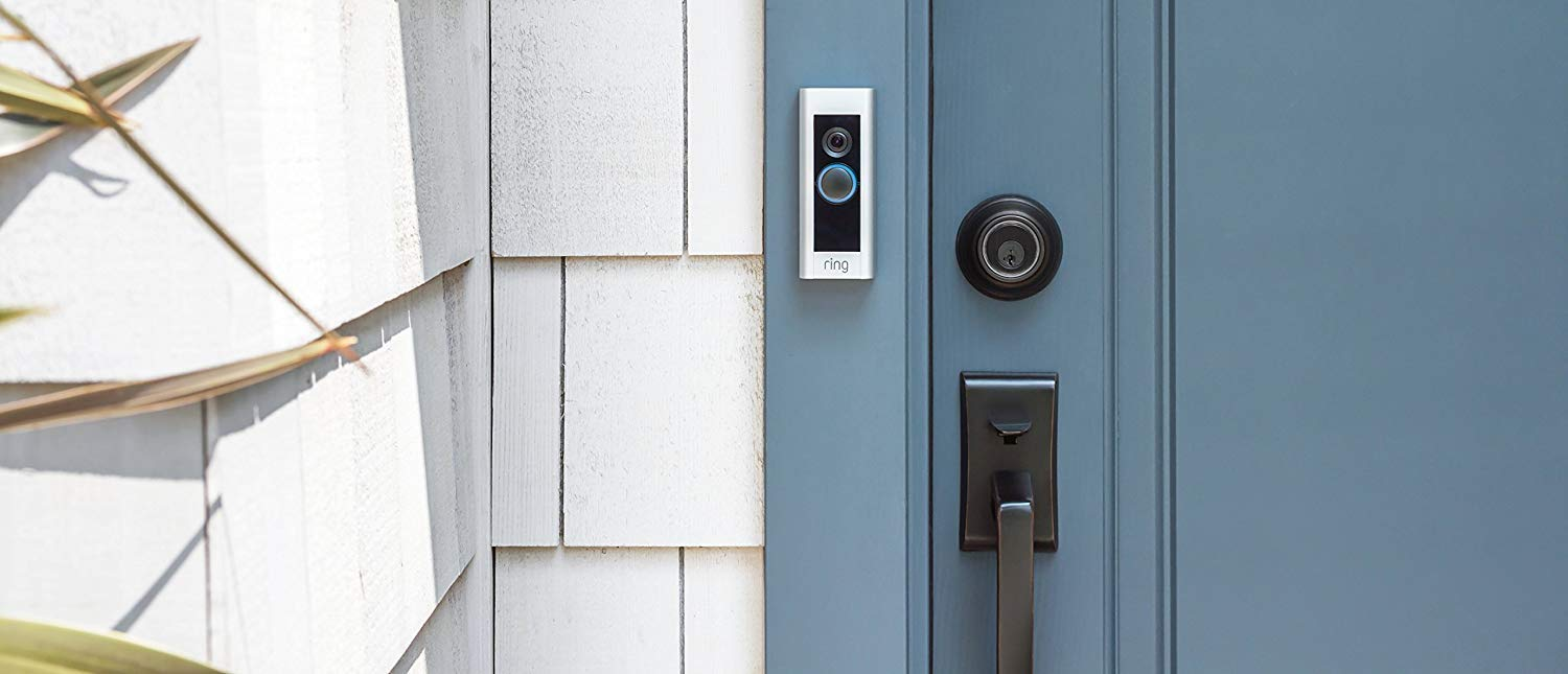 test ring video doorbell pro smarte t rklingel mit. Black Bedroom Furniture Sets. Home Design Ideas