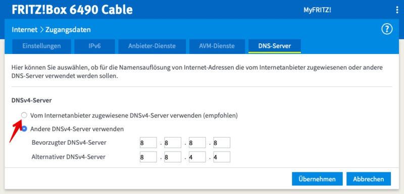 vodafone kabel deutschland fremdgeraet dns 800x385 - Vodafone Kabel Deutschland - Störung - eigener Router / Fremdgerät - 128 kbit/s