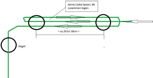 Worx Landroid M500 2019 (WR141E) - Illustration Reserve-Begrenzungskabel