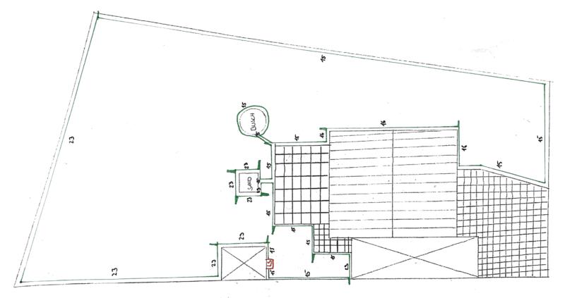 Worx Landroid M500 2019 (WR141E) - Planungsskizze