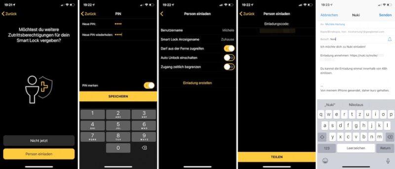 nuki combo 2punkt0 smart lock 2null bridge einrichtung smart lock zugriffsberechtigung 800x342 - Test - NUKI Combo 2.0 - Smartes Türschloss mit Apple HomeKit