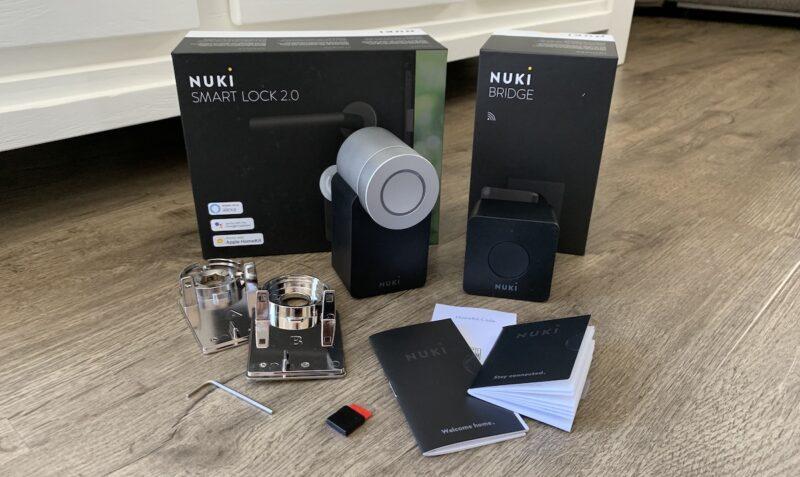 nuki combo 2punkt0 smart lock 2null bridge lieferumfang 800x477 - Test - NUKI Combo 2.0 - Smartes Türschloss mit Apple HomeKit