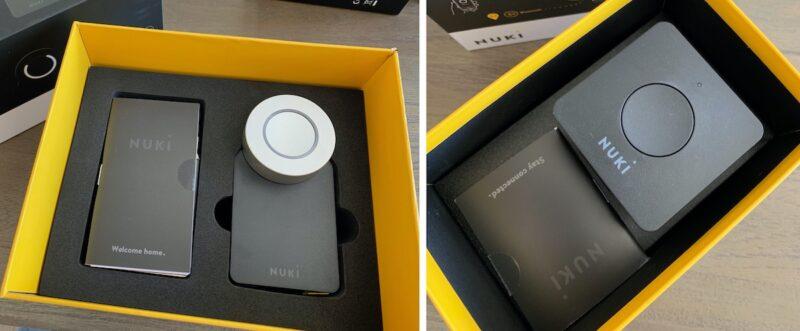 nuki combo 2punkt0 smart lock 2null bridge verpackung 800x331 - Test - NUKI Combo 2.0 - Smartes Türschloss mit Apple HomeKit