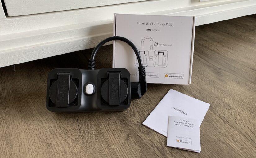 meross mss620 smart wifi outdoor plug produktbild 825x510 - Kurztest - Meross Smart Wi-Fi Outdoor Plug - WLAN-Außensteckdose mit HomeKit