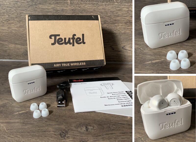 teufel airy true wireless lieferumfang 800x581 - Test – Teufel AIRY TRUE WIRELESS – In-Ear-Kopfhörer mit Ladecase