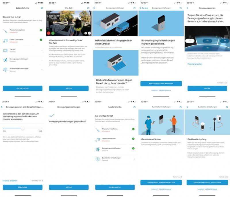 ring video doorbell 3 plus bewegungseinstellungen nutzer chime neu 800x686 - Test - Ring Video Doorbell 3 Plus