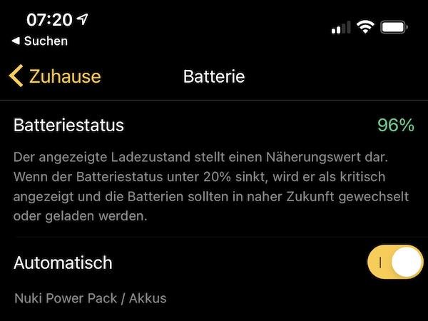 nuki powerpack app batterietyp - Kurztest - NUKI Power Pack