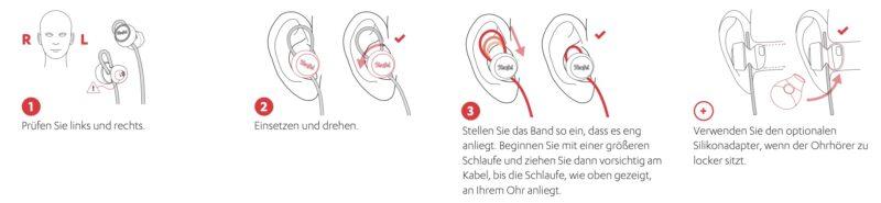 Teufel SUPREME IN Passform Einsetzen 800x185 - Test - Teufel SUPREME IN - Bluetooth Earbud-Kopfhörer