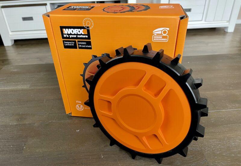 WORX Landroid Raeder WA0950 Offroad 800x551 - Kurztest - Landroid alternative Räder - WA0950 WA0952 WA0953