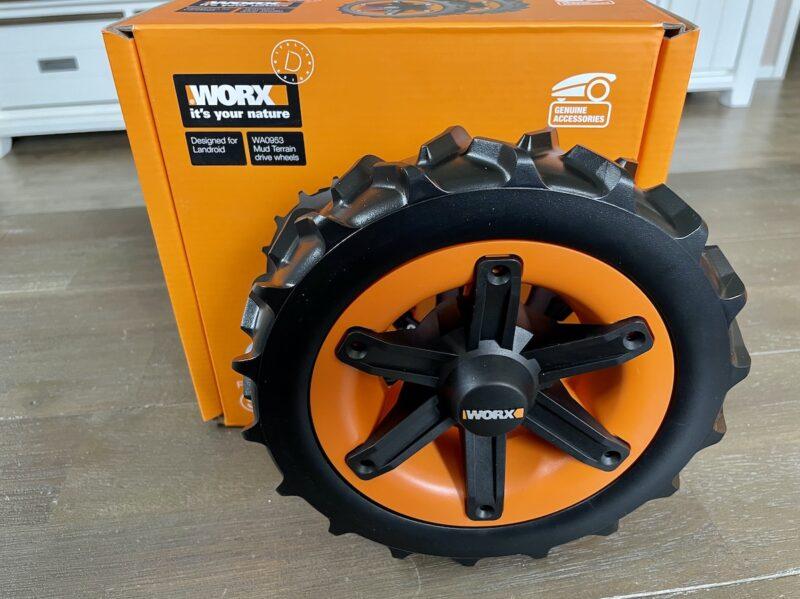 WORX Landroid Raeder WA0953 All Terrain 800x599 - Kurztest - Landroid alternative Räder - WA0950 WA0952 WA0953